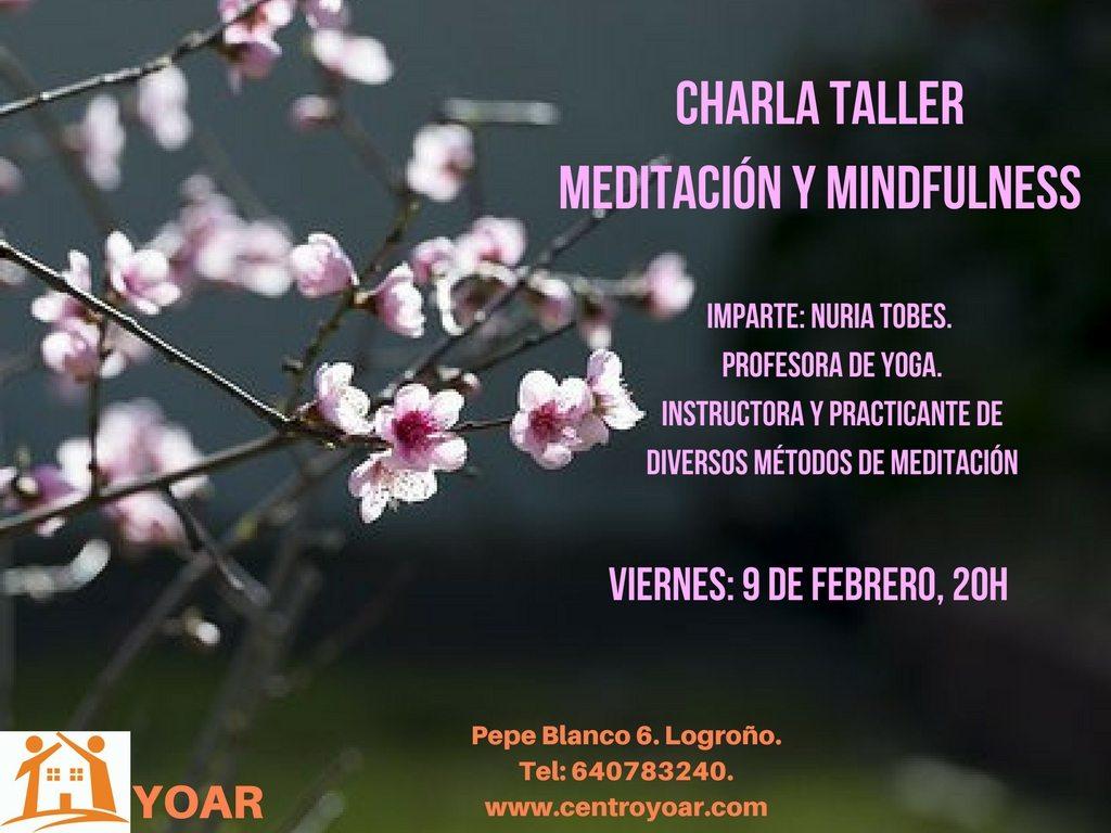 Charla, Taller y Meditación